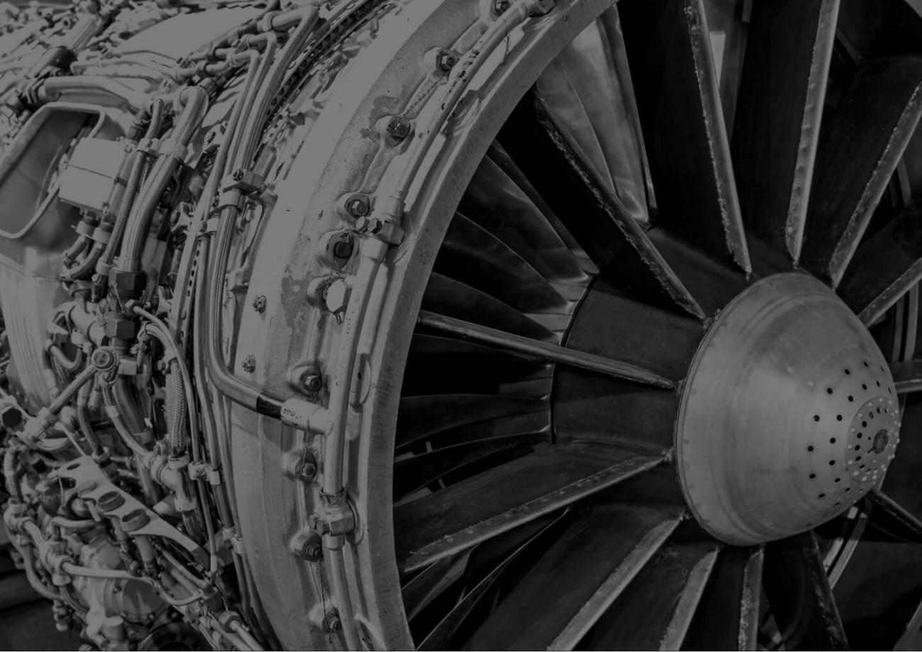 A jet turbine engine