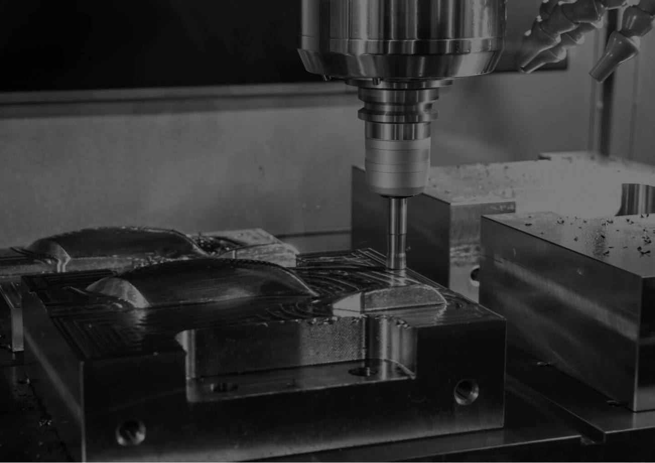 A router cutting metal