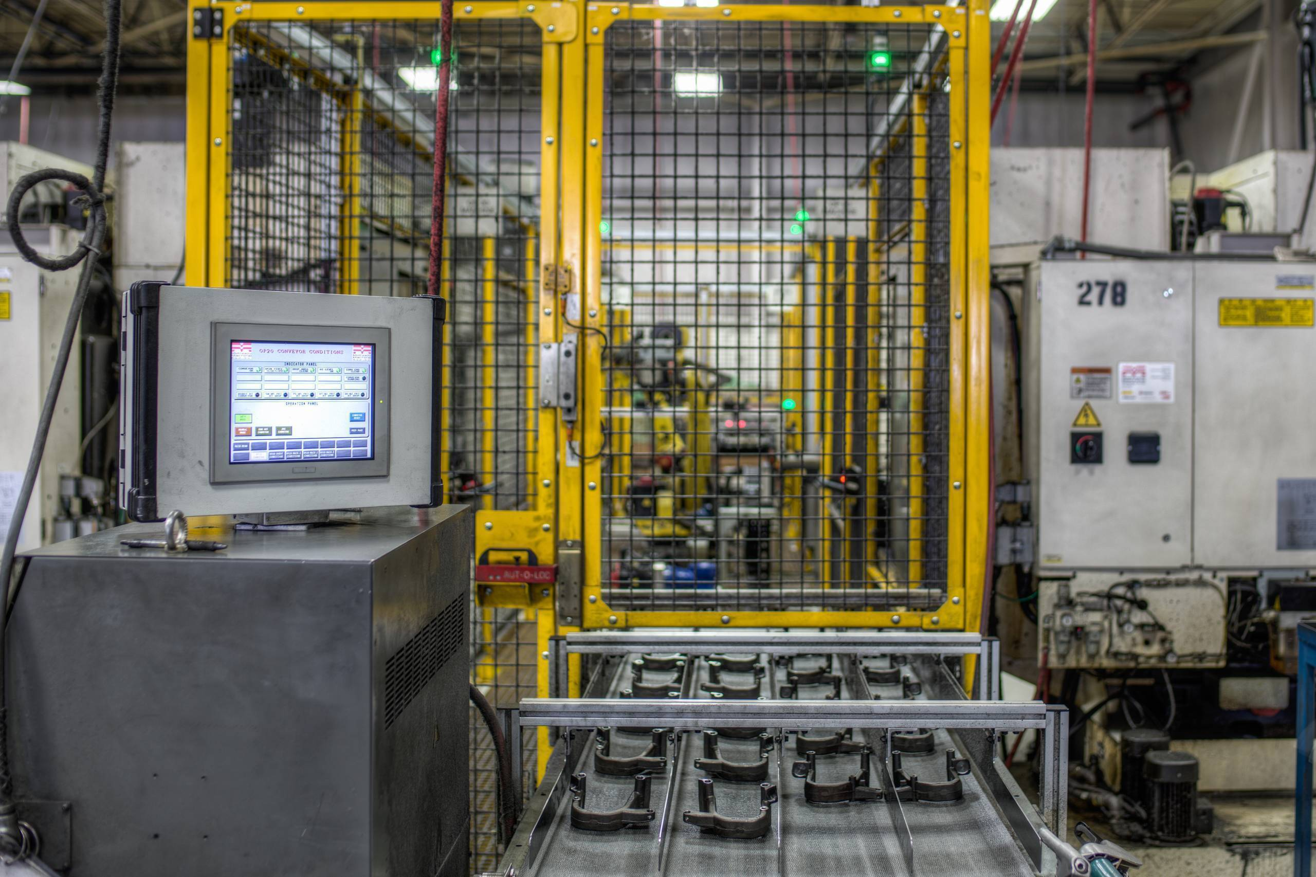 High performance horizontal machining center