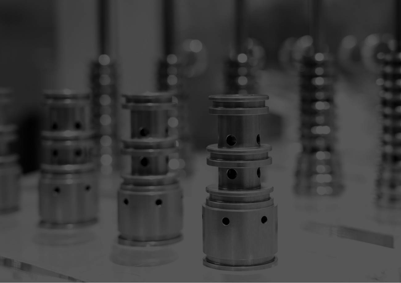 Close up of machine parts
